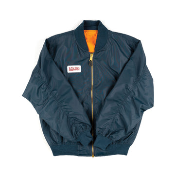 Tech Labs Lightweight Flight Jacket Navy