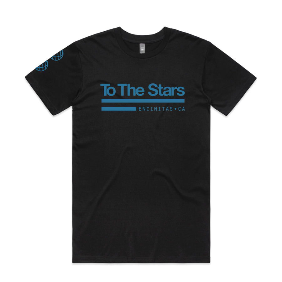 To The Stars... Tech Labs T-Shirt Black | ToTheStars.Media