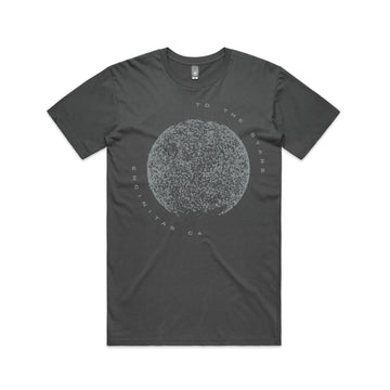 To The Stars... Terrestrial T-Shirt Charcoal | ToTheStars.Media