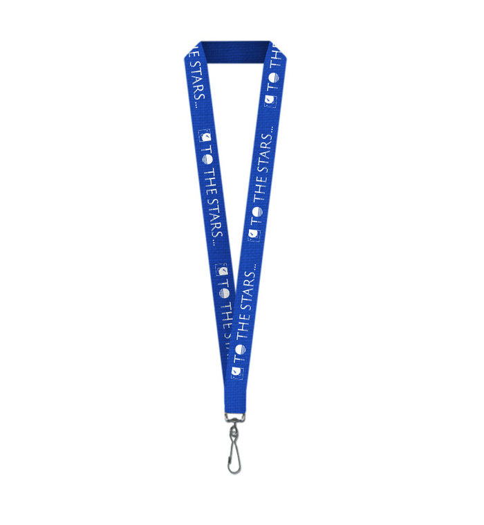 To The Stars Inc.-Text Logo Lanyard Blue-To The Stars...