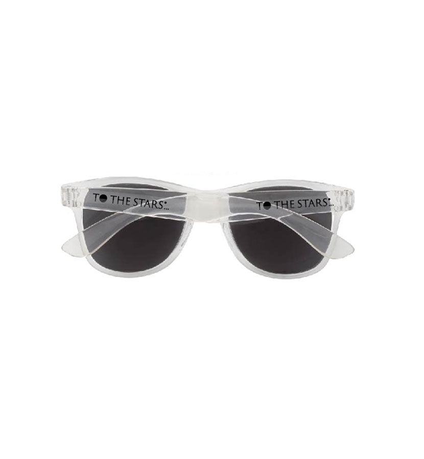 To The Stars Inc. Text Logo Pop Color Sunglasses - To The Stars...