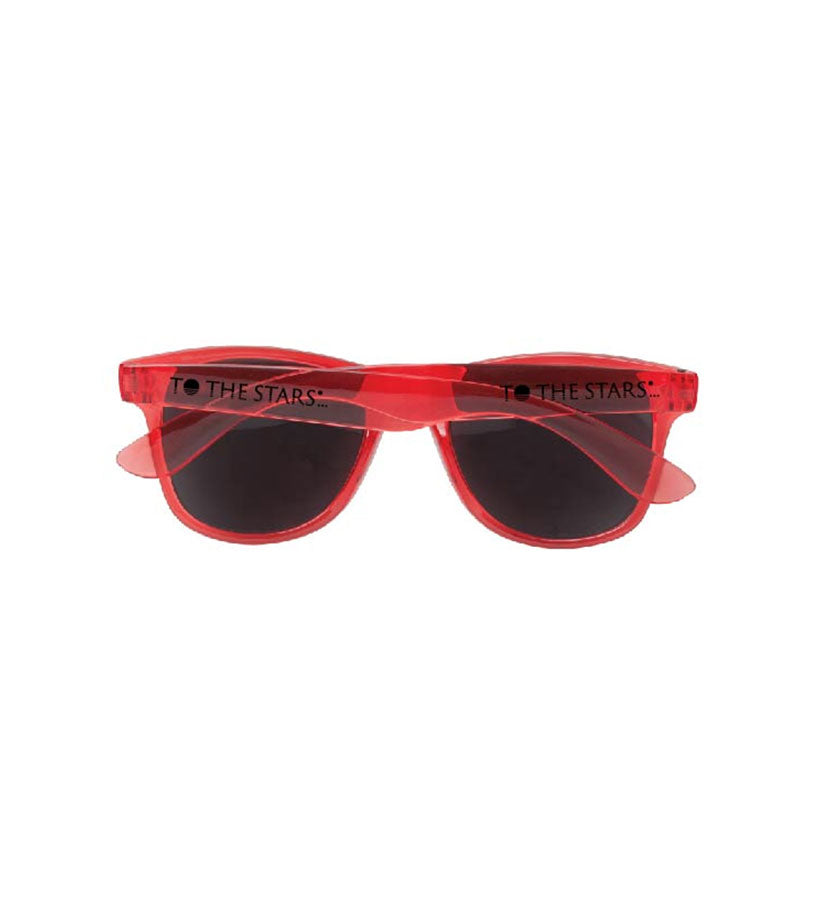 Text Logo Pop Color Sunglasses