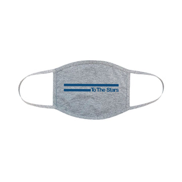 To The Stars Inc. Vintage Bars Face Mask Heather Grey - To The Stars...