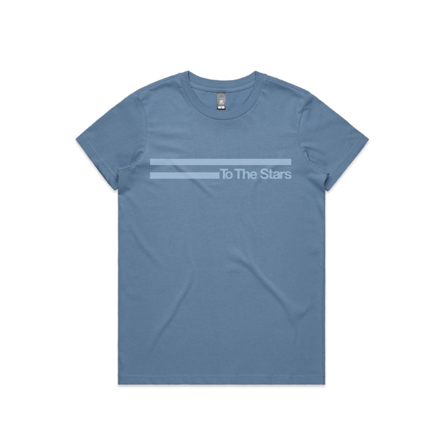 Vintage Bars Tonal Women's T-Shirt Carolina Blue | ToTheStars.Media