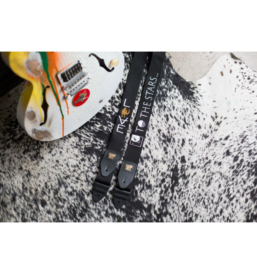 To The Stars Inc.-x Ernie Ball Text Logo Guitar Strap-To The Stars...