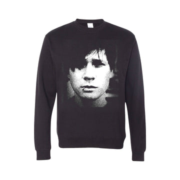 Portrait Crewneck Sweatshirt Black