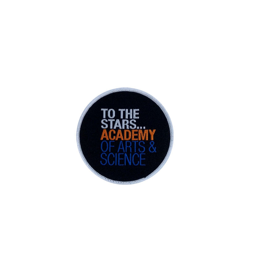 Academy Of Arts & Science Circle Patch - To The Stars...