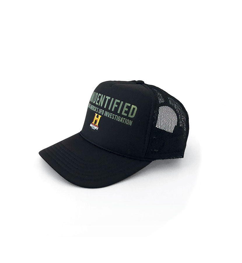 Unidentified: Inside America's Secret UFO Program Trucker Hat Black - To The Stars...