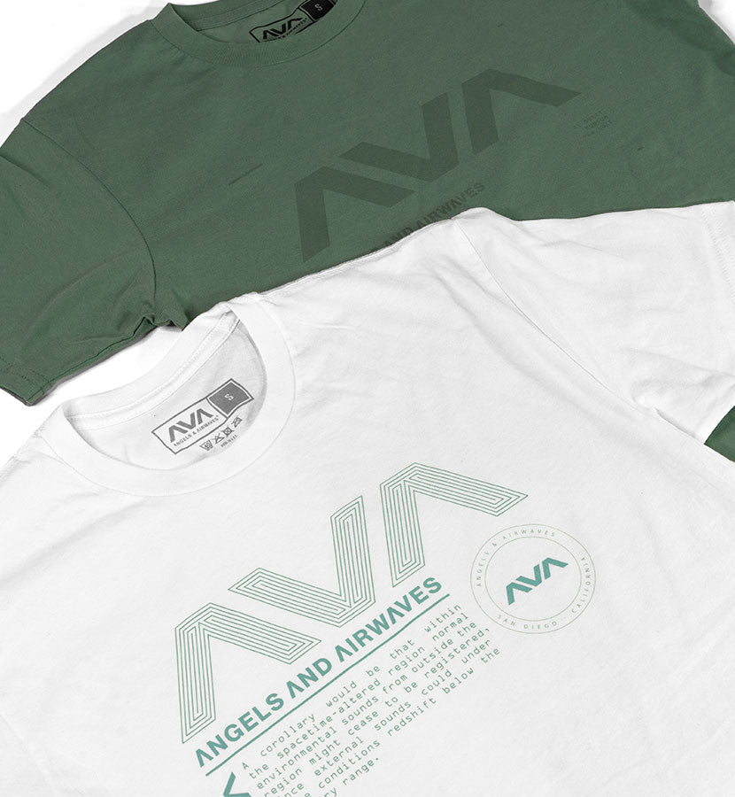 Data Package T-Shirt White/Teal