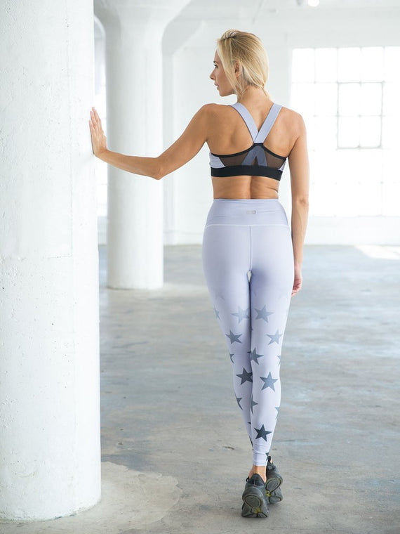 FADED STARS — Leggings (Lilac)