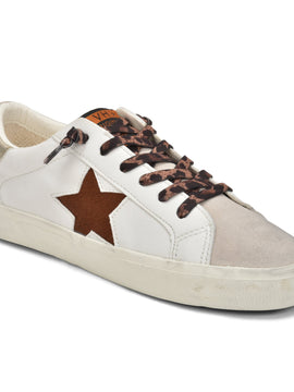HANNAH WHITE & BROWN SNEAKERS