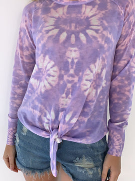 Tie Dye Top Sweater