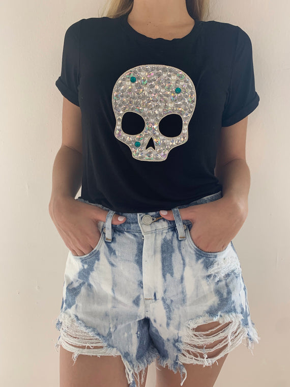 Embellished Skull Black