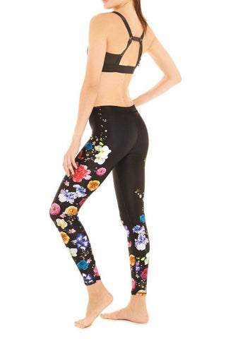 FRESH FLORAL LEGGINS