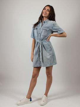 DENIM DRESS BLANK NYC