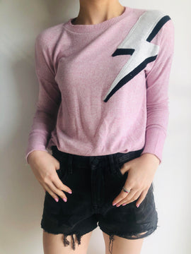 PINK LIGHTING BALL SWEATSHIRT