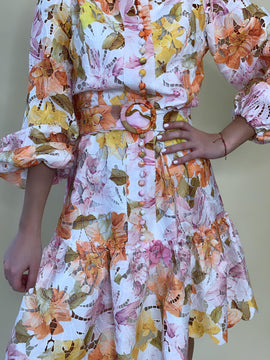 FLORAL BLOSSOM DRESS