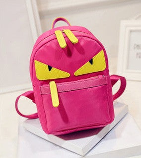 Cheerful monster backpack