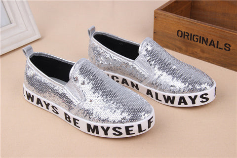 Be Myself Sequins Slip on