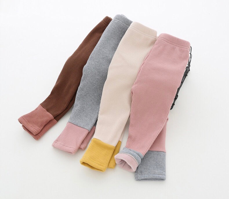 FW19 color block leggings