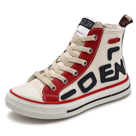 Frankie canvas high top sneakers