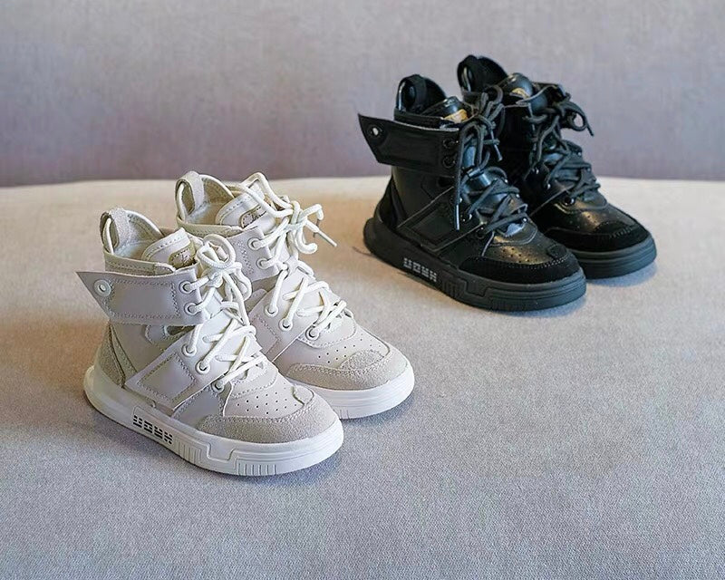 Flight hightop sneakers