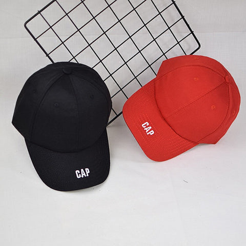 Basic embroidery cap vetements