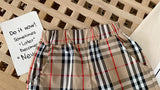 Plaid summer shorts