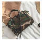 Vintage army doll Kelly bag