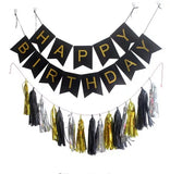 Happy birthday garland party decoration