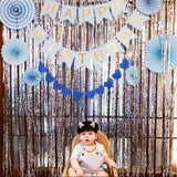 Backdrop foil party decoration