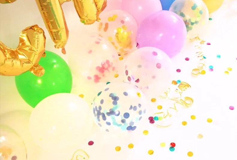 Confetti Balloon Pack party decoration
