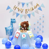 Happy first birthday package party decoration