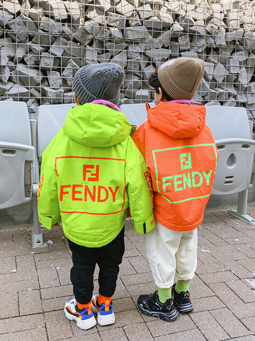 FENDY windbreaker jacket