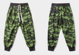 Camouflage jogging pants