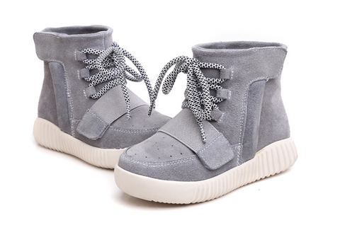 FFYK Collection high top sneakers Grey Toddler (US 5c-9c)