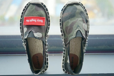 Yeezy Taught Me Camouflage Espadrilles