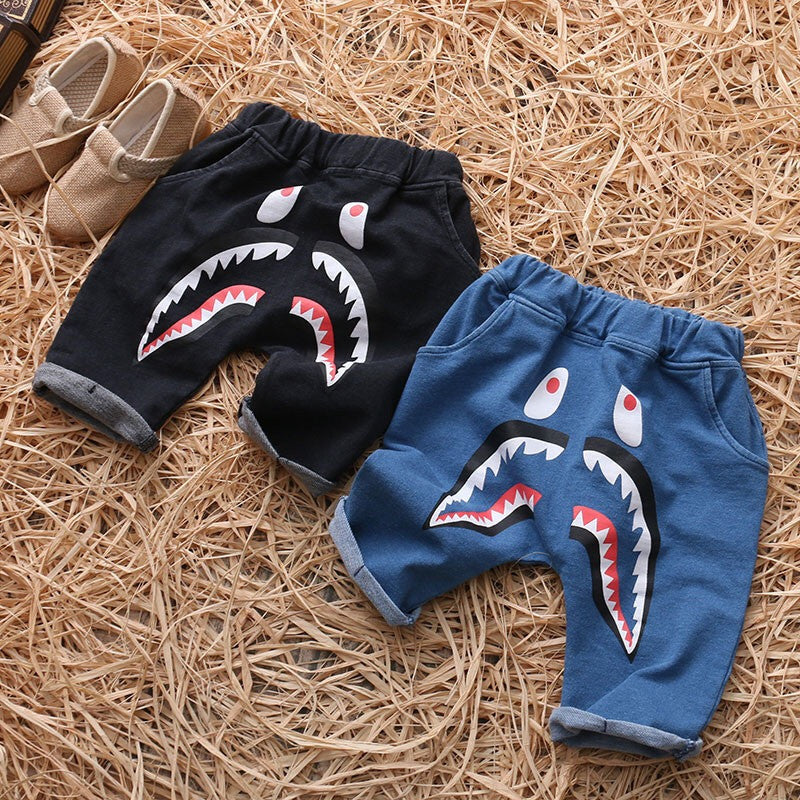 Shark summer shorts