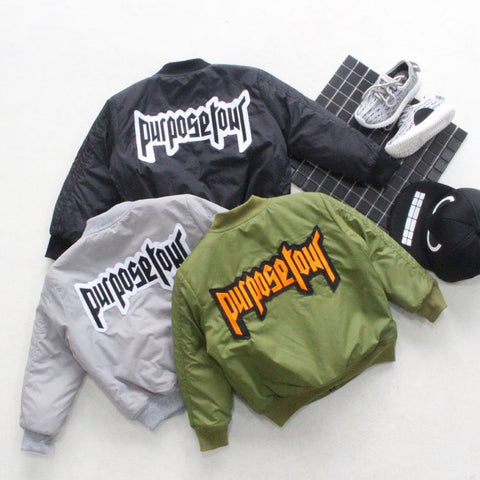 Purpose bomber jacket