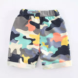 Basic summer camo shorts