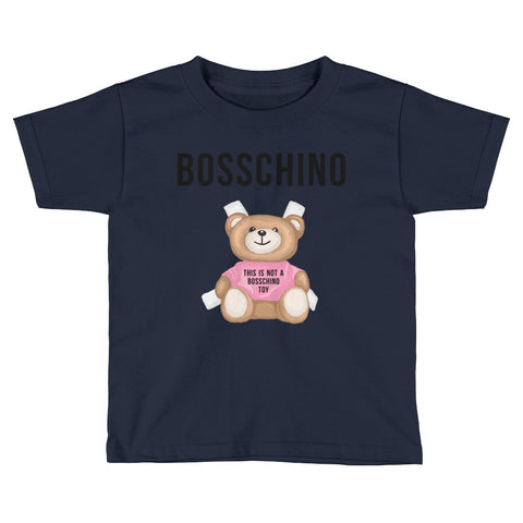 BOSSCHINO Pink Kids Short Sleeve T-Shirt
