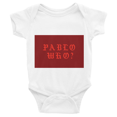 Pablo WHO ? Infant short sleeve one-piece