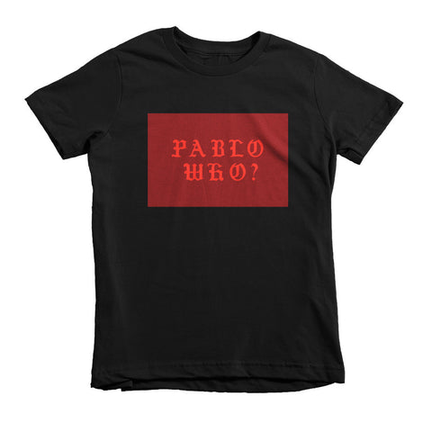 Pablo WHO ? Short sleeve kids t-shirt