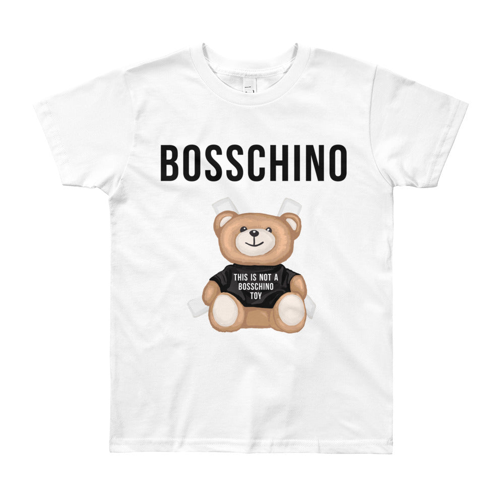 BOSSCHINO Youth Short Sleeve T-Shirt