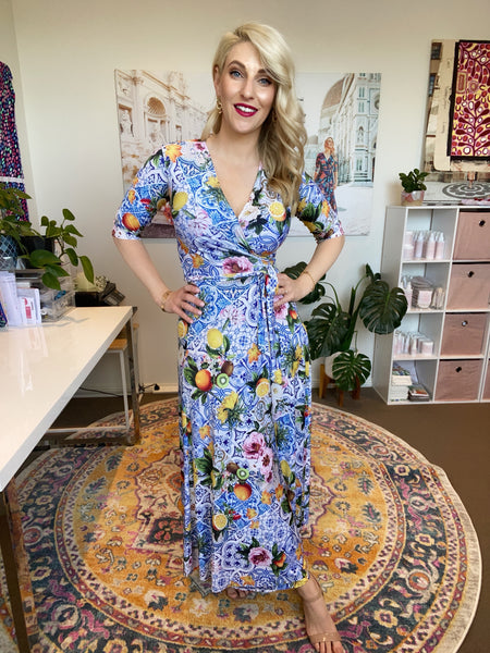 Kathy Wrap Dress