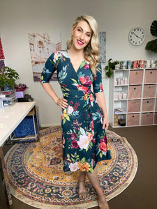 Sophia wrap dress -pre order Dec 2020