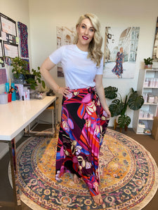 Jenny Wrap Skirt- last sizes