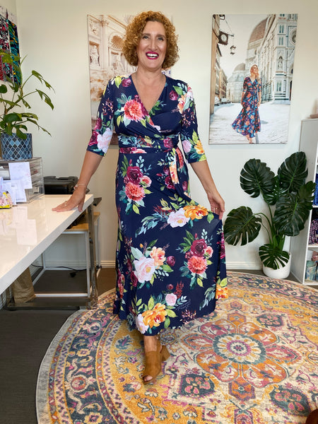 Chiara wrap dress- Pre-order Feb 2021