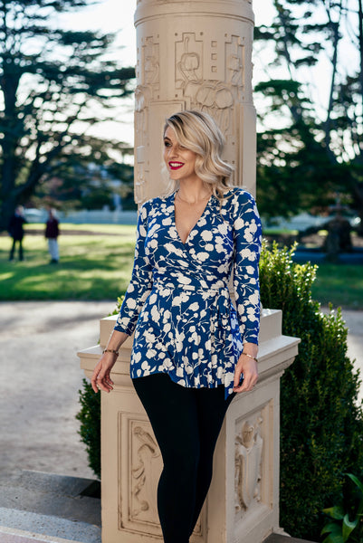 Brighton Wrap Top - last sizes