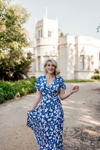 Brighton wrap dress - Last Sizes